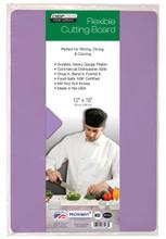 "Chop-Chop FOOD SERVICE GRADE FLEX MAT, Size 12""x18"", Pack of 1, Purple"