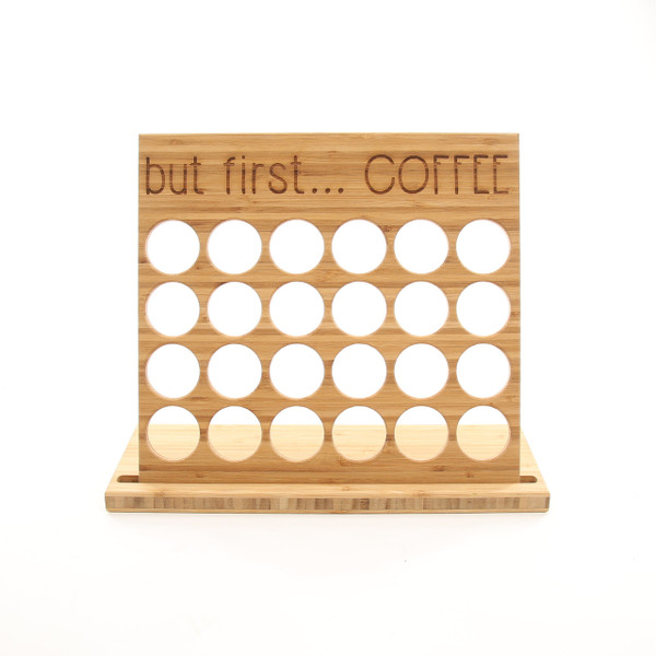 Amber Bamboo K-Cup Holder