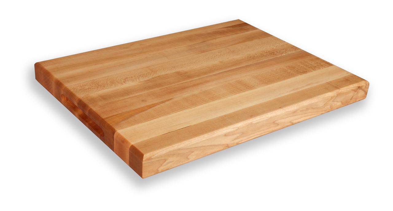 Michigan maple block cutting board quot x