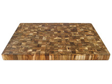 Proteak 332 extra large teak end grain cutting board