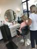 Hair Salon Sneeze Guard - Closed Base (CBCHSSGC)