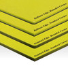 1/2 Thick Yellow Custom Cutting Board