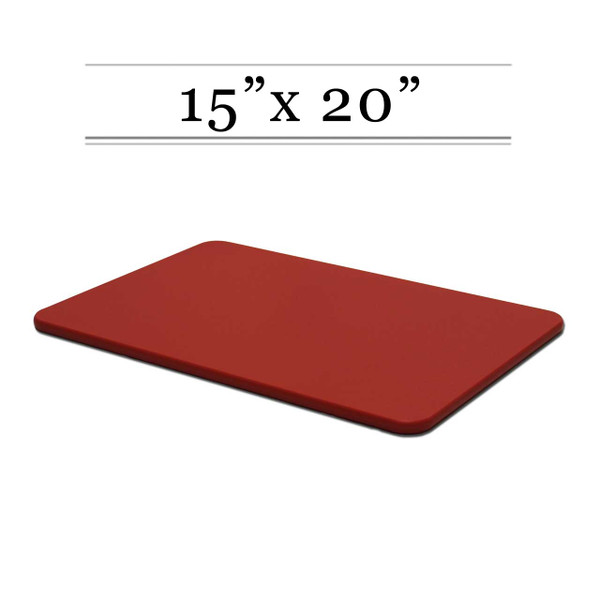 15 x 20 Red Cutting Board