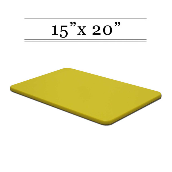 15 x 20 Yellow Cutting Board