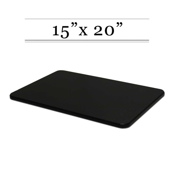 15 x 20 Black Cutting Board