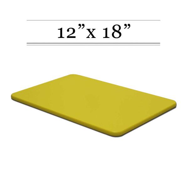 12 x 18 Yellow Cutting Board
