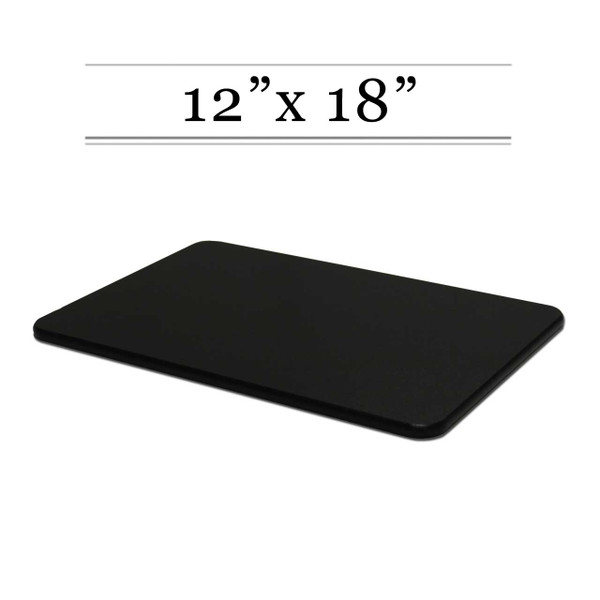 12 x 18 Black Cutting Board