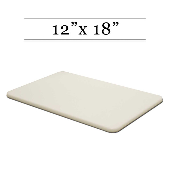 12 x 18 White Cutting Board