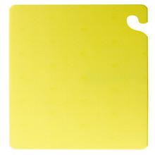 "San Jamar YELLOW Cut-N-Carry Cutting Board 15"" x 20"" x 1/2"""