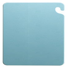 "San Jamar BLUE Cut-N-Carry Cutting Board 12"" x 18"" x 1/2"""