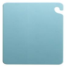 "San Jamar BLUE Cut-N-Carry Cutting Board 12"" x 18"" x 1/2"""