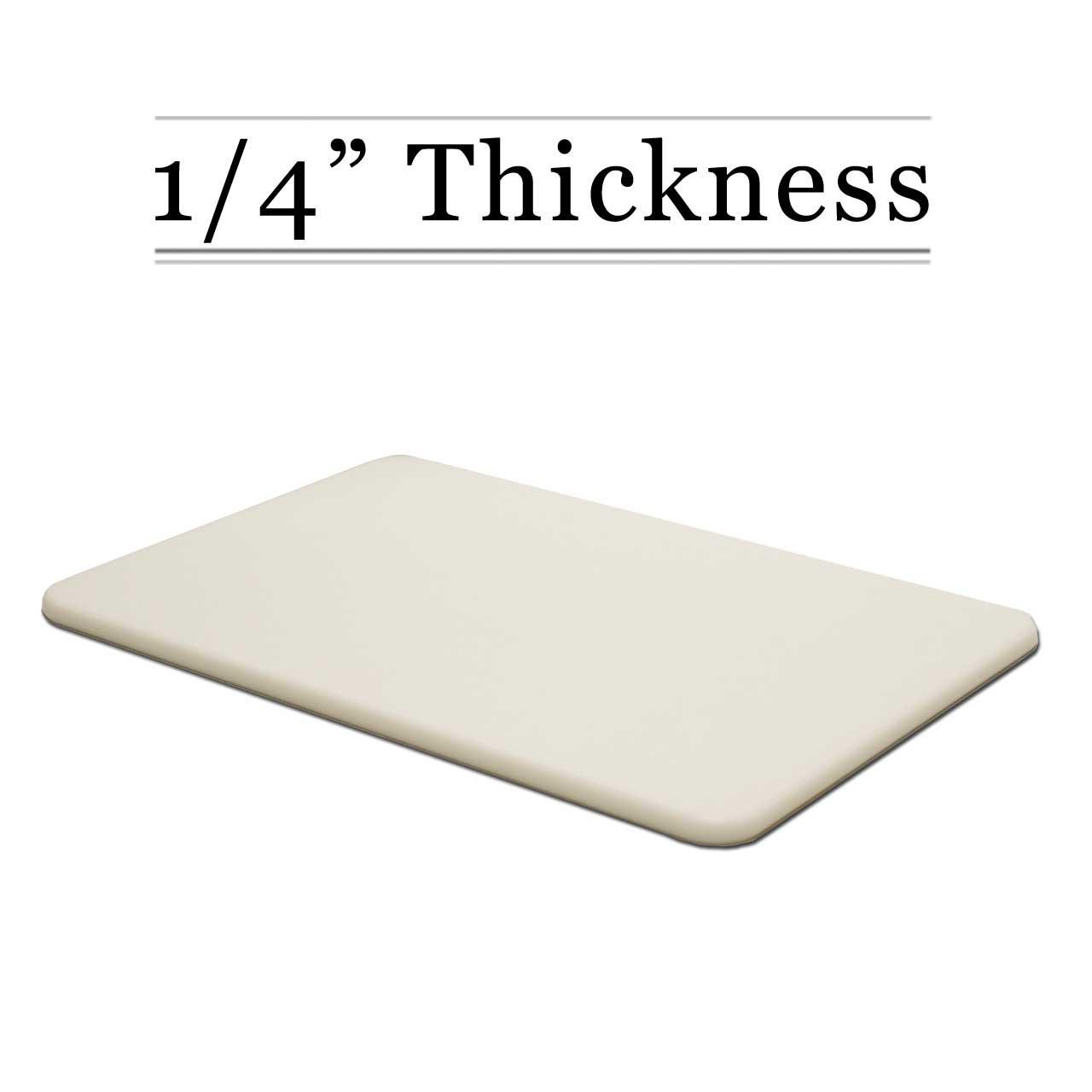 1 4 Thick White Custom Cutting Board