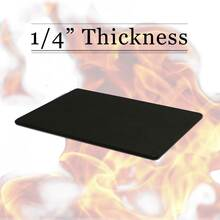 "1/4"" Thick Black Richlite Cutting Board"