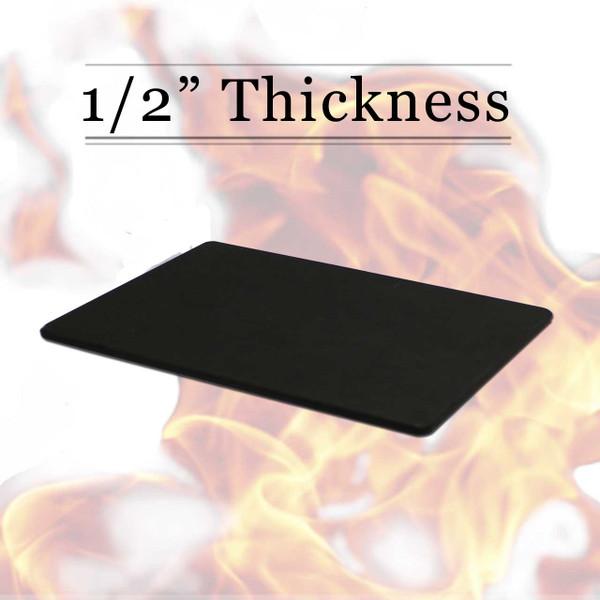 1/2 Thick Black Richlite Cutting Board