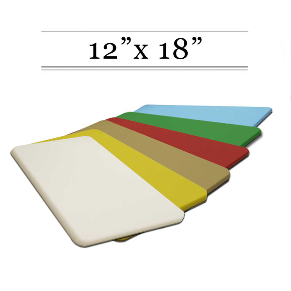 6 Cutting Board Set - Size 12 x 18, SAVE OVER 10%