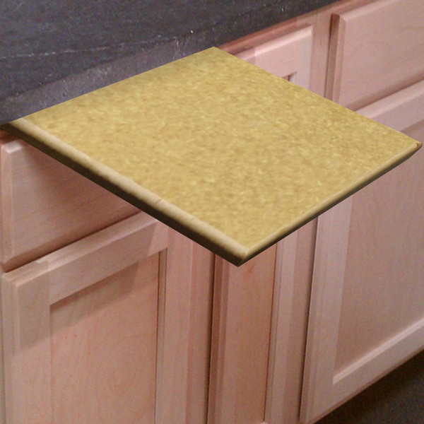 1/2 Inch Thick Richlite Pull Out Under Counter Cutting Board