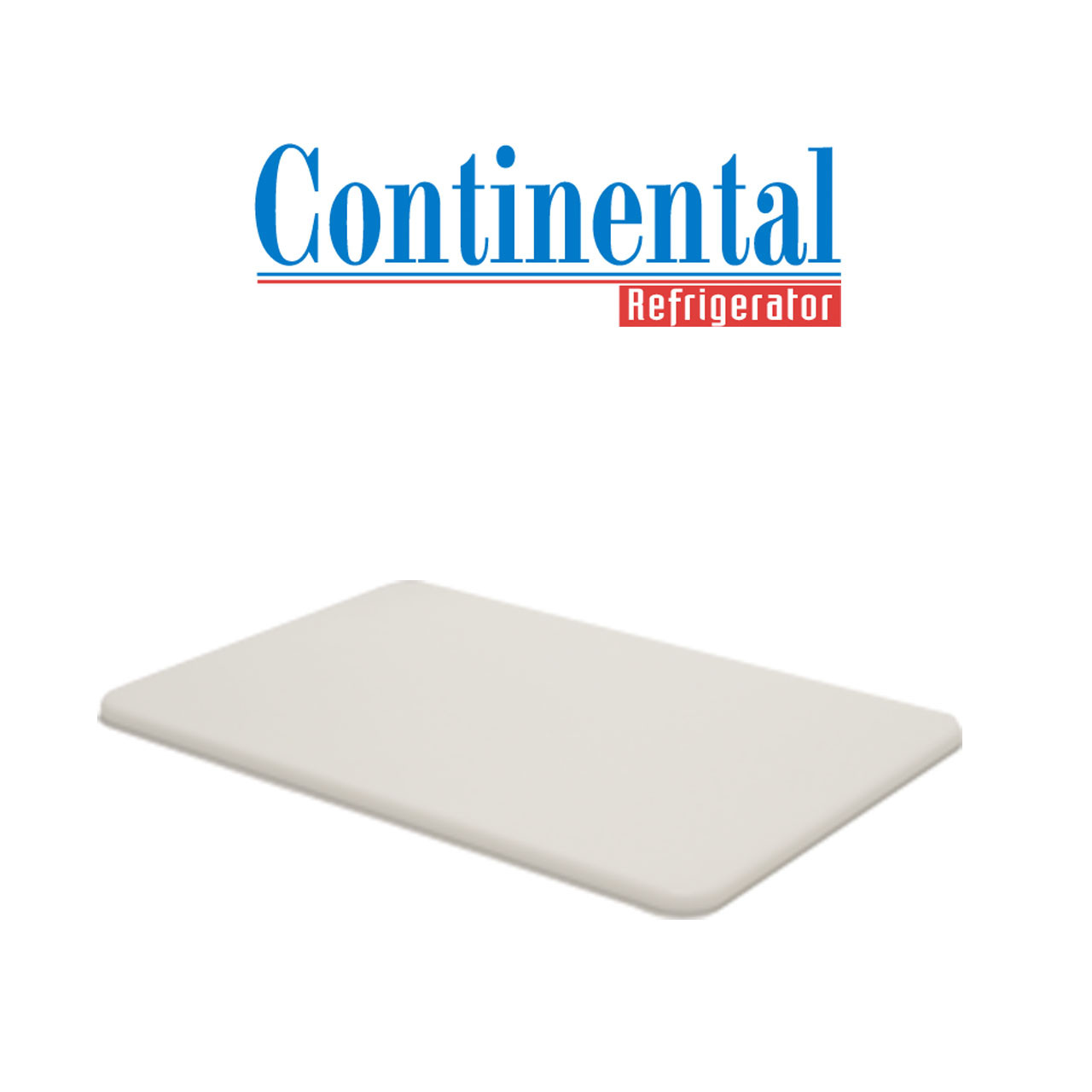 5-257 24 in x 10 in x 1//2 in Cutting Board Continental Refrigeration