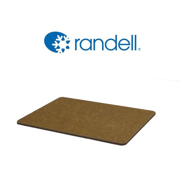 Randell - RPCPT0833T Cutting Board, 8 X 33 Tan Poly