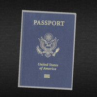 Clear Vinyl Passport Cover