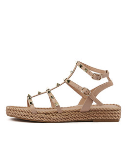 RAELYN Sandals in Cafe Leather