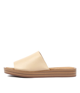 FARON Sandals in Nude Leather