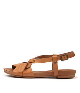 CATINA Sandals in Tan Leather