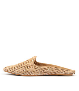 REYNOLD Flats in Natural Raffia