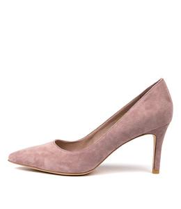 BARRIOS High Heels in Blush Suede