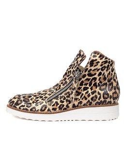 OHMY Boots in Ocelot Leather
