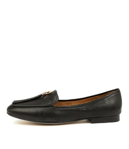 MARCELO Flats in Black Leather