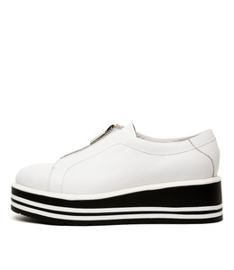 SHELBA Sneakers in White Leather