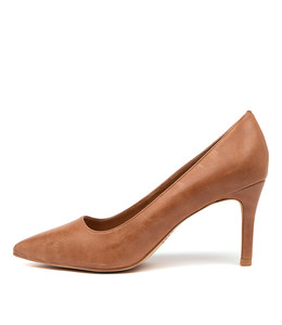 BARTON High Heels in Tan Leather