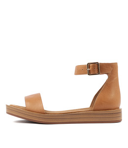 FERD Sandals in Tan Leather