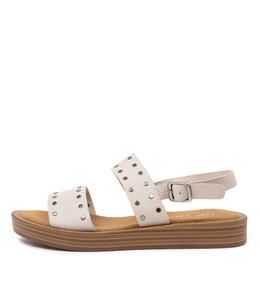 FROILS Sandals in Nougat Leather