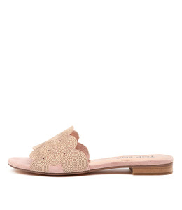PRINCES Sandals in Rose Suede