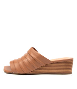 PEYTON Sandals in Tan Leather