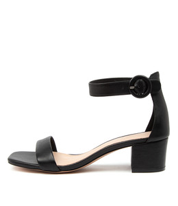DRYNON Sandals in Black Leather