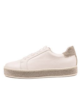 PLUMA Sneakers in White Leather