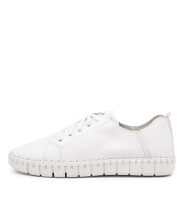 KINGSLY Sneakers in White Leather
