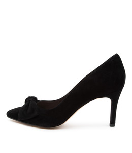 BULLISH High Heels in Black Suede