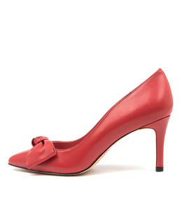 BULLISH High Heels in Red Leather