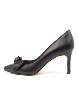 BULLISH High Heels in Black Leather