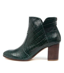 UPCLIMB Ankle Boots in Forest Leather