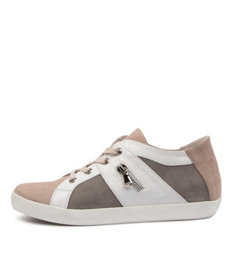 ESSEX Sneakers in Misty/ White Multi Leather