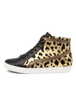 EVERY Sneakers in Bronze/ Leopard Leather