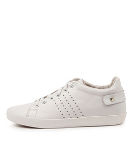 EISLEY Sneakers in White Leather