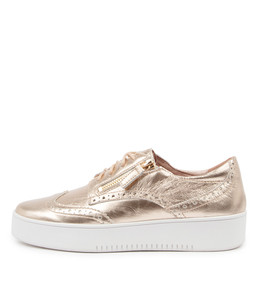 LEON Sneakers in Champagne Leather