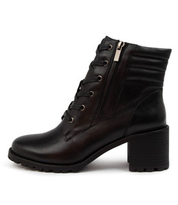 NOEL Boots in Black Leather
