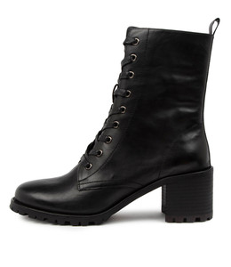 NOAH Boots in Black Leather