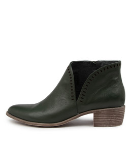 JUDITH Boots in Forest Leather